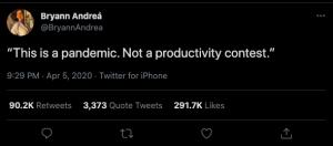 Toxic Productivity